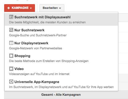 Google AdWords Text-Anzeige, Banner oder beides