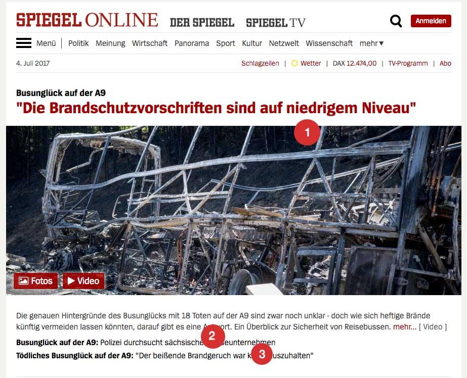Content-Strategie: Spiegel-Startseite